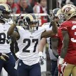 San Francisco beats Rams 19-16 in OT