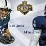 Amos and James Selected in Fifth Round of NFL Draft
