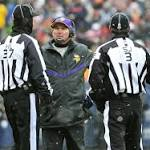Vikings coach upset over clock malfunctions at Soldier Field: 'The clocks here ...