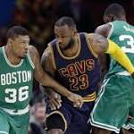 Boston Celtics Stun The Cleveland Cavaliers With A 99-90 Win