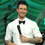 Adam Levine explains 'I hate this country' joke - video