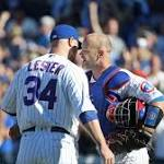 Jon Lester loses no-hit bid but throws complete game for 15th victory