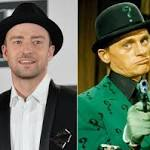 Justin Timberlake as The Riddler? He's up for it.