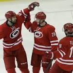 San Jose Sharks blow 2-0 lead, lose to Carolina Hurricanes