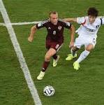 Russia v South Korea, World Cup 2014: live