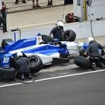 Indianapolis Indy 500 Carlos Huertas ear problem knocked from race