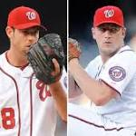 The Nationals are starting their three best pitchers against the Giants