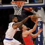 NBA: Newly eliminated Knicks stop Bulls' streak