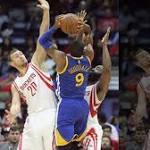 Rockets best Warriors, 90-83 improve to 4-1
