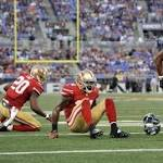 Backup quarterback's debut is rocky