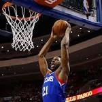 It's over: Sixers beat Pistons to halt losing streak at 26