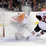 Senators deal Flyers another blow