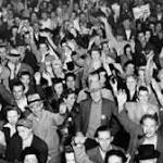 LA 're-clenched its fists' on VE Day 70 years ago