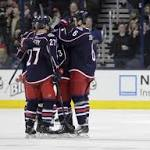 Blue Jackets eye 5th straight win vs. struggling Caps