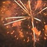 Similar shell malfunction at 2 fireworks shows