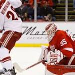 How the Red Wings lost to the Coyotes Tuesday night