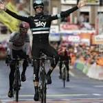Poels claims first Monument for Sky