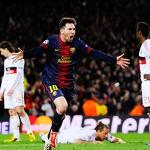 Messi sparks historic comeback, Barcelona beats Milan to reach Champions ...