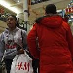 Retailers report seasonal surge