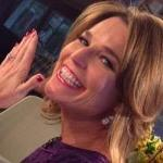 "It was a big day on ""Today"" for morning show anchor Savannah Guthrie."