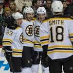 Eriksson's OT Goal Gives Bruins 3-2 Win Vs. Wild