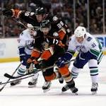 Game Day: Canucks face tough test in Anaheim Ducks