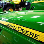 Deere shares jump 13%, plows past Street, boosts forecast