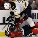 Bruins lose in shootout to Blackhawks