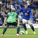 Everton's Ross Barkley to undergo scan on leg injury this weekend