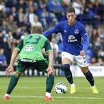 Everton's Ross Barkley to undergo scan on leg injury this weekend