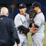 Yankees place Mark Teixeira on 15-day disabled list with strained right hamstring