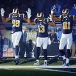 Rams follow Ferguson-related gesture with statement win over Raiders
