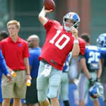 Practice report for 7/28: Eli goes deep, Hyno loses his hat & Cruz waves