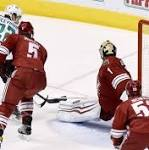 Moss scores late, Coyotes end 7-game losing streak with 2-1 win over Stars in ...