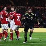 Costa volleys Blues past Middlesbrough, to the top of the table