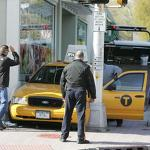 Leonia police arrest man driving NYC taxi that got stuck between building, traffic ...
