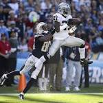 Raiders of old lose with penalties, mistakes