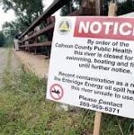 Enbridge, Michigan settle over 2010 Kalamazoo River oil spill