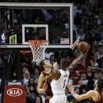 Heat roll past LeBron-less Cavaliers in Miami