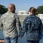 Military Coalition rallies to end government shutdown