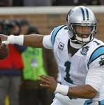 Cam Newton's 'Superman' pose sparks massive brawl during Panthers-Saints ...