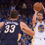 Warriors' Steph Curry is king of fling
