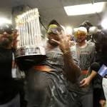 Giants win World Series!