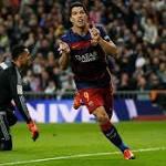 Real Madrid 0-4 Barcelona: La Liga – as it happened