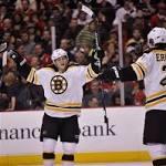 Bruins Blow Out Blackhawks, NHL News