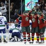 Coyle ties game, Pominville wins it in shootout as Wild top Canucks 3-2 to stop ...