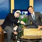 Stephen Colbert Interviews Eminem on Monroe Public Access Television