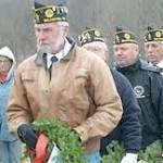 Wreaths ceremony honors veterans