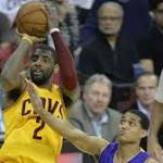 Cleveland Cavaliers' Kyrie Irving hiting stride from three-point range