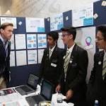 Schoolchildren design colour-changing condom to detect STIs